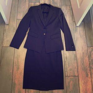 Ann Taylor two button suit